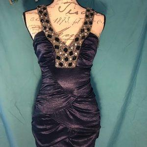 City studio body con mini dress
